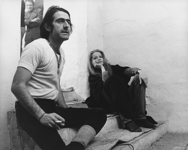 Veruschka and Rubartelli by Pierluigi