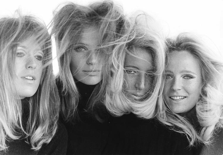 Veruschka and Rubartelli collaborate with her sisters