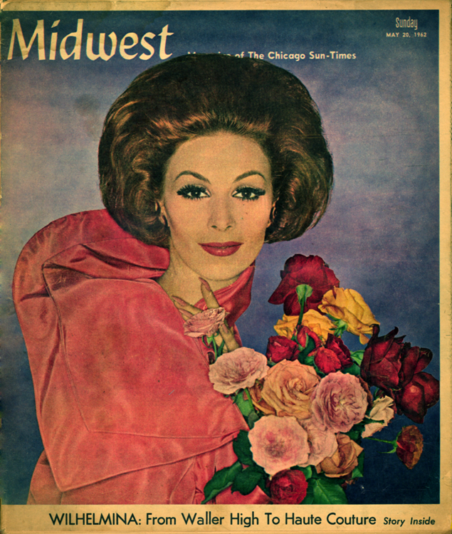 Wilhelmina magazine cover