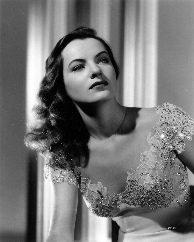 Portrait of Ella Raines by Ray Jones